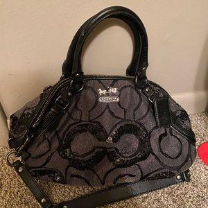 Coach sequin handbag